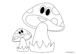 Small Picture Cute mushroom coloring pages 3 Nice Coloring Pages for Kids