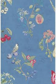 Cherry Pip Behang Blauw Pip Studio The Official Website