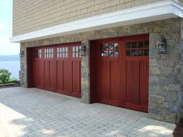 double carriage garage doors. Interesting Wood Carriage Garage Doors With Delighful Double House Style Model Arch