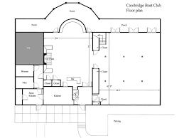 Clubhouse Floor Plan Design Floor Plan Of The Cambridge Boat Club Cambridge Boat Club