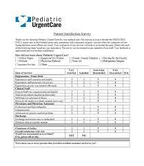 54 Effective Patient Satisfaction Survey Templates Questions