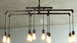 industrial pipe lighting. Pipe Light Fixture Galvanized Fixtures Contemporary Best Lighting Ideas On Rustic Intended For Industrial