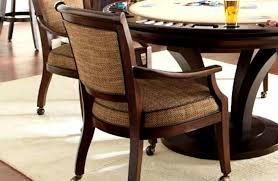 dining room game table beautiful elegant 25 dining room chairs casters scheme
