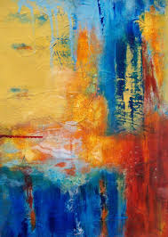vere original contemporary abstract painting by florida artist karen taddeo