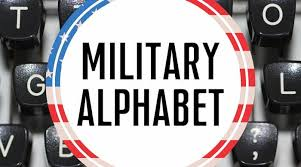 Phonetic alphabet with 10 codes. Military Alphabet Military Benefits