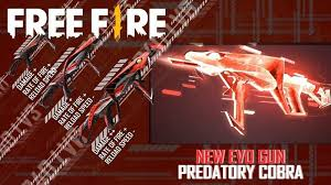 World best game is free fire. New Mp40 Predatory Cobra Evo Gun In Free Fire Everything We Know So Far
