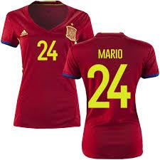De Gaspar camisetas Baratas España Fútbol España 2016 Mario Selección Camiseta