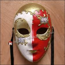 Decorative Face Masks Carnival Mask Venetian Full Face Maskhand Draw 100d Venice 4