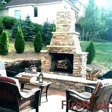 cost of outdoor fireplace brick wood burning kits small