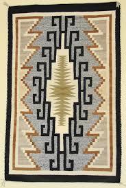 Perfect Navajo Rugs Weaving Circa 1940 Two Grey Hills Rug For Beautiful Design