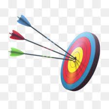 Resultado de imagen de la diana con la flecha en medio