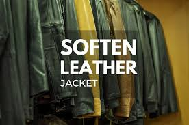 soften leather jacket