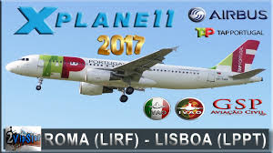X Plane 11 A320 Neo Tap Roma Lirf Lisboa Lppt Ivao Voo Completo