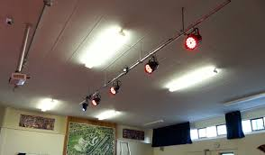 lighting bar installation 4 x led pars and 1 x led moving head inspirational moving ceiling