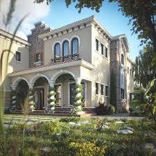 Tuscan Inspired Villa In Dubai Idesignarch Interior Design