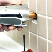shower spout leaking shower knob loose tub spout repair and installation installing replacing bathtub faucet leaking