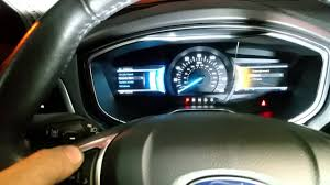 Ford Fusion Oil Light Reset How To Reset Oil Change Light On A 2013 2016 Ford Fusion