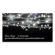 Sparkling Stars Business Card Zazzle Com Magician