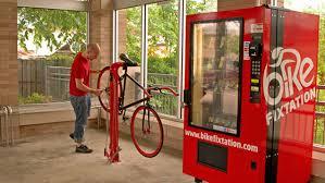 Vending Machines Repair Impressive The Bike Repair Vending Machine That Sells Parts Tools And Snacks