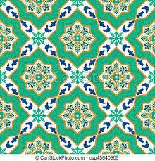 Pattern In Spanish New Spanish Classic Ceramic Tiles Seamless Patterns Spanish Classic
