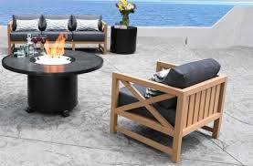 kensington teak patio furniture conversation set
