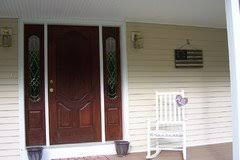 Minwax Gel Stain On Thermatru Fiber Classic Door