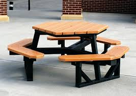 plastic picnic tables home depot recycled for sams club