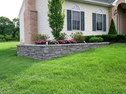 retaining wall ideas for front yard lovely elegant front yard retaining wall elegant hillside landscape design