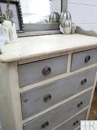 Pine Effect Bedroom Furniture Chalk Paintwhite With Grey Drawers Chalk Paint Fab