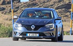 2018 renault rs. plain 2018 2018 renault megane rs spied testing in renault rs