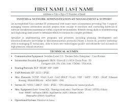 Modern Network Administrator Resume Admin Resume Format Executive Administrative Assistant Resume