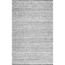 nuloom natosha chevron striped silver 8 ft x 10 ft indoor outdoor area