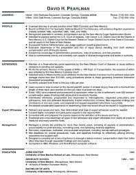 Legal Resume Classy Principal Attorney Resume Example