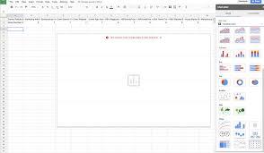 Google Sheet Table Chart Not Working Editors Van