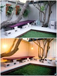 cinderblock furniture. CONCRETE BLOCK FURNITURE CINDER BENCHES BALCONY APARTMENT Cinderblock Furniture
