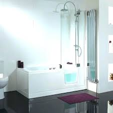 bathtubs idea awesome walk in tubs with jets and showers tub shower combo home depot