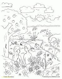 Free Bible Creation Coloring Pages Printables Pinterest Throughout