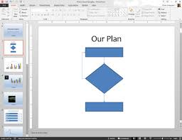 How To Make A Flowchart In Powerpoint How To Create Flowcharts In Powerpoint 2013 Dummies
