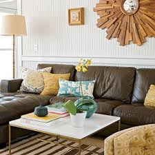 living room colors with brown couch. Yellow And Brown Room Living Colors With Couch