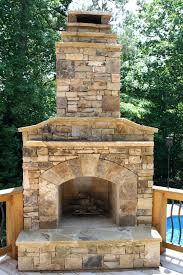 diy outdoor fireplace cinder block wood burning plans backyard