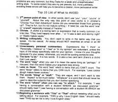 Essay Examples Jane Schaffer Example Grading Rubrics