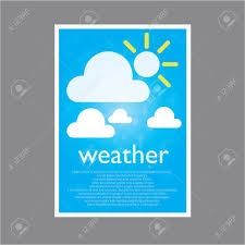 Simple Page Weather For Describe Royalty Free Cliparts Vectors And