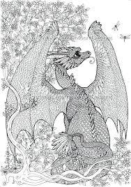 Dragon Coloring Pages For Adults Dragons For Coloring Dragon