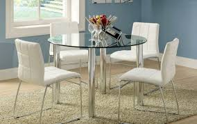 glass for diameter room mid circle white dining seater dimensions set ideas argos and centur tables