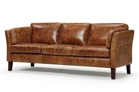 scandinavian leather furniture. Vintage Scandinavian Style Leather Sofa Furniture N