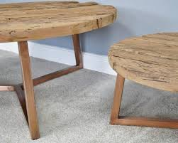 2 round coffee tables dmw furniture
