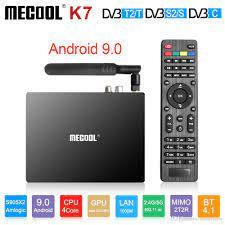 Mecool K7 Android 9.0 Smart TV Box DVB T2/S2/C Amlogic S905X2 4GB64GB DDR4  2.4G/5G WIFI K7 Smart TV Box From Smartview, $132.72