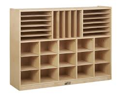 Multi Section Storage Cabinet 32 Compartment Cubby