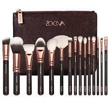 plete 15 pcs rose gold makeup brush set professional luxury set make up tools kit powder blending brushes