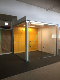 office sliding glass doors and office glass wall